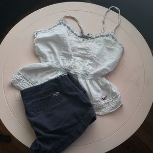 Hollister Top & Bottoms together